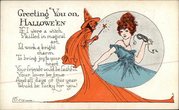 Greeting You on Halloween E. Weaver