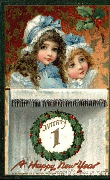 January 1 - A Happy New Year Children