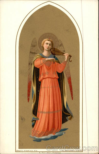 Angel Playing Lute Angels