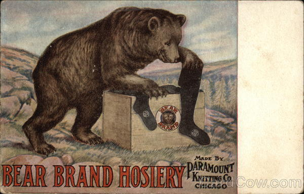 Bear Brand Hosiery Advertising