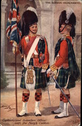 Captain and Subaltern Officer with the King's Colours