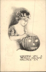 Wishing You a Jolly Old-Time Halloween