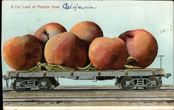 A Car Load of Peaches from California