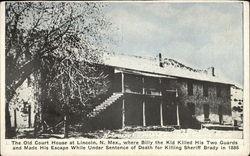 Billy the Kid - The Old Court House