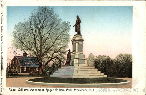 Roger Williams Park - Roger Williams Monument Providence Rhode Island