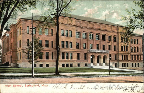 High School Springfield Massachusetts