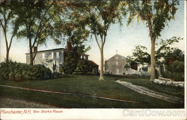 General Stark's House Manchester New Hampshire