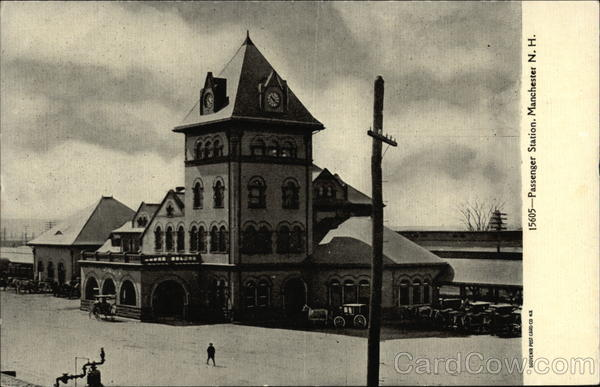 Passenger Station Manchester New Hampshire