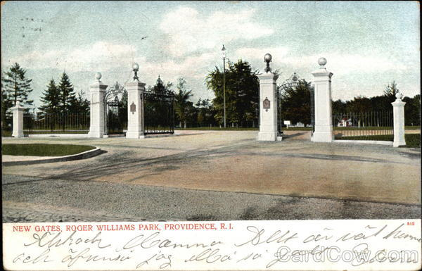 New Gates, Roger Williams Park Providence Rhode Island