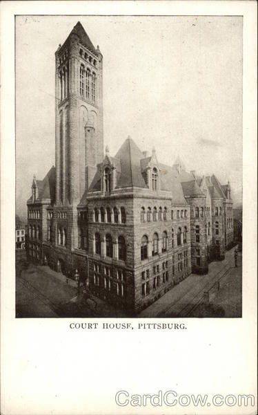 Court House Pittsburgh Pennsylvania