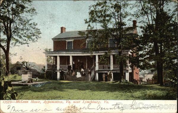 McLean House Appomattox Virginia