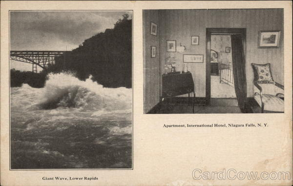 Giant Wave, Lower Rapids - Apartment, International Hotel Niagara Falls New York