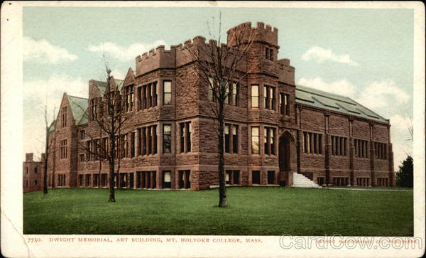 Mt. Holyoke College - Dwight Memorial, Art Building South Hadley Massachusetts