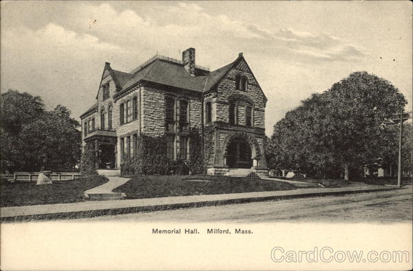 Memorial Hall Milford Massachusetts