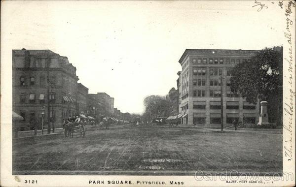 Park square view pittsfield massachusetts