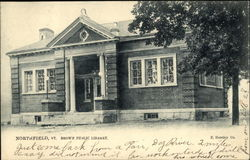 Brown Public Library Postcard