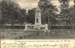 24th Regiment Connecticut Volunteer Monument on Washington Green