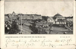 Exposition Building at the Iowa State Fair
