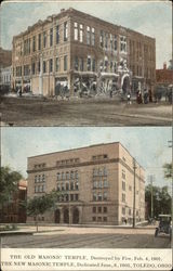 The Old Masonic Temple & The New Masonic Temple