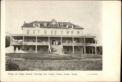 View of Oaks Hotel, Facing the Lake