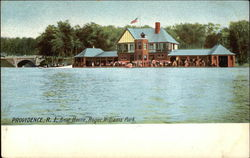 Boat House, Roger Williams Park