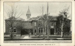 Brocton High School Building