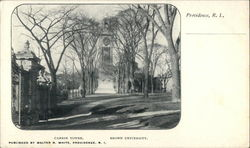 Carrie Tower, Brown University Postcard