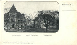 Sayles Hall, Brown University & Wilson Hall