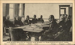 The Peace Envoys of Japan and Russia at Portsmouth Navy Yard