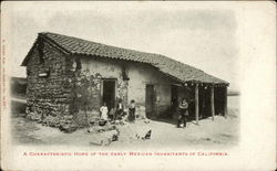 A Characteristic Home of the Early Mexican Inhabitants