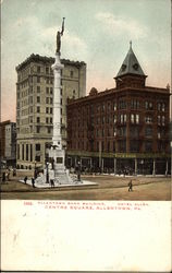 Allentown Bank Building and Hotel Allen, Centre Square