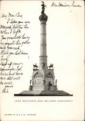 Iowa Soldiers' and Sailors' Monument