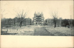 Main Building, State Hospital