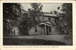Old Davenport House, Rock Island Arsenal