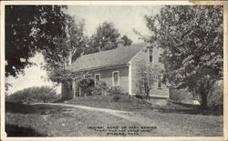 "Original Home of Mary Sawyer ""Mary and her Little Lamb"""