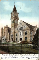 Mary Lyon Hall at Mt. Holyoke College