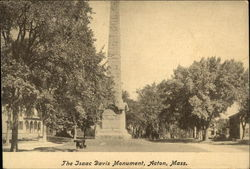 The Isaac Davis Monument