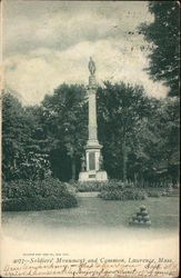 Soldier's Monument and Common
