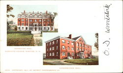 Richardson Hall & Fayerweather Hall at Dartmouth College