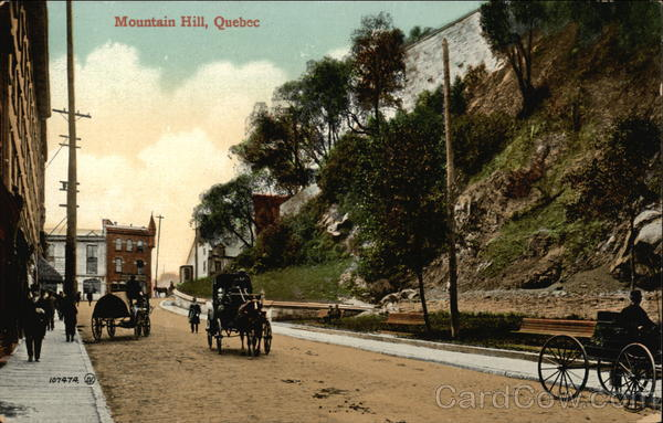 Street View Mountain Hill Canada Quebec