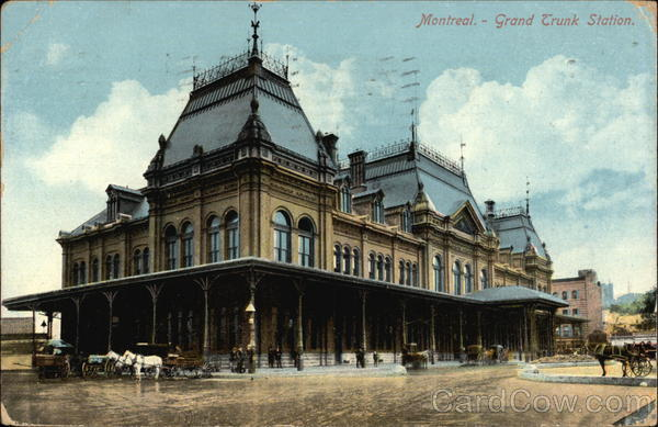 Grand Trunk Station Montreal Canada Quebec
