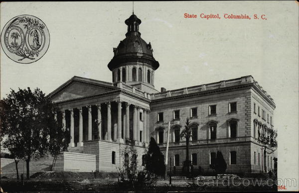 State Capitol Building Columbia South Carolina