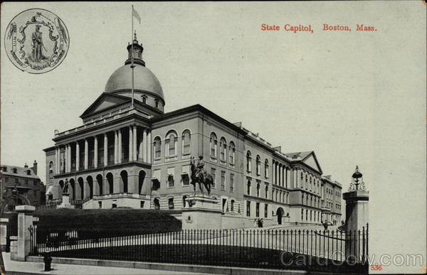 State Capitol Boston Massachusetts
