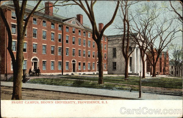 Front Campus at Brown University Providence Rhode Island
