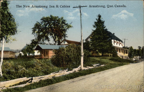 The New Armstrong Inn & Cabins Canada Quebec