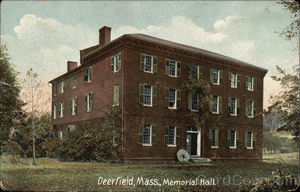 Memorial Hall Deerfield Massachusetts