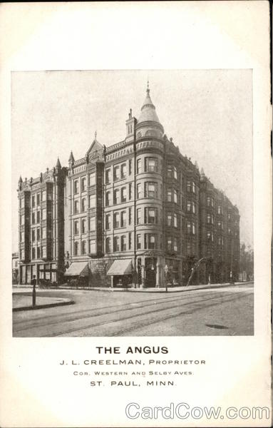 The Angus - J.L.Creelman, Proprietor St. Paul Minnesota
