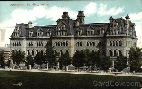 Department Building Ottawa Canada Ontario