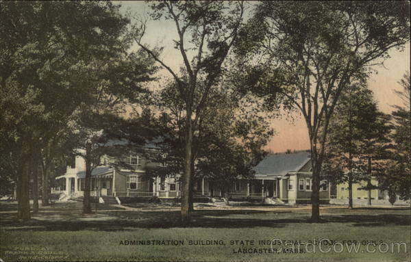 Administration Building, State Industrial School for Girls Lancaster Massachusetts
