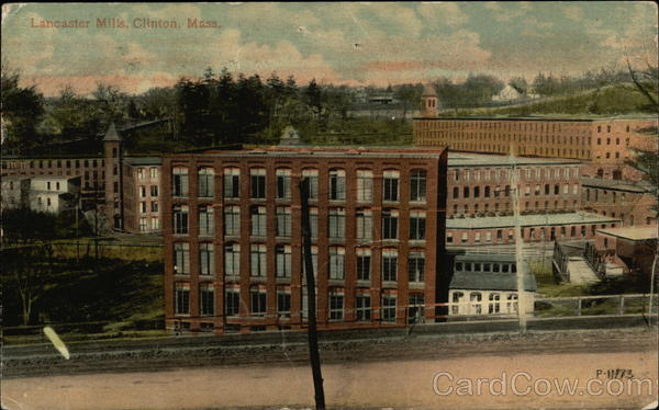 Lancaster Mills Clinton Massachusetts